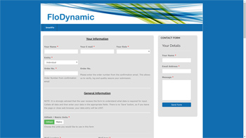 FloDynamic web site designed by QD Design