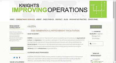 Knights Improving Operations site design